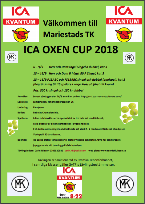 Ica Oxen Cup 2018