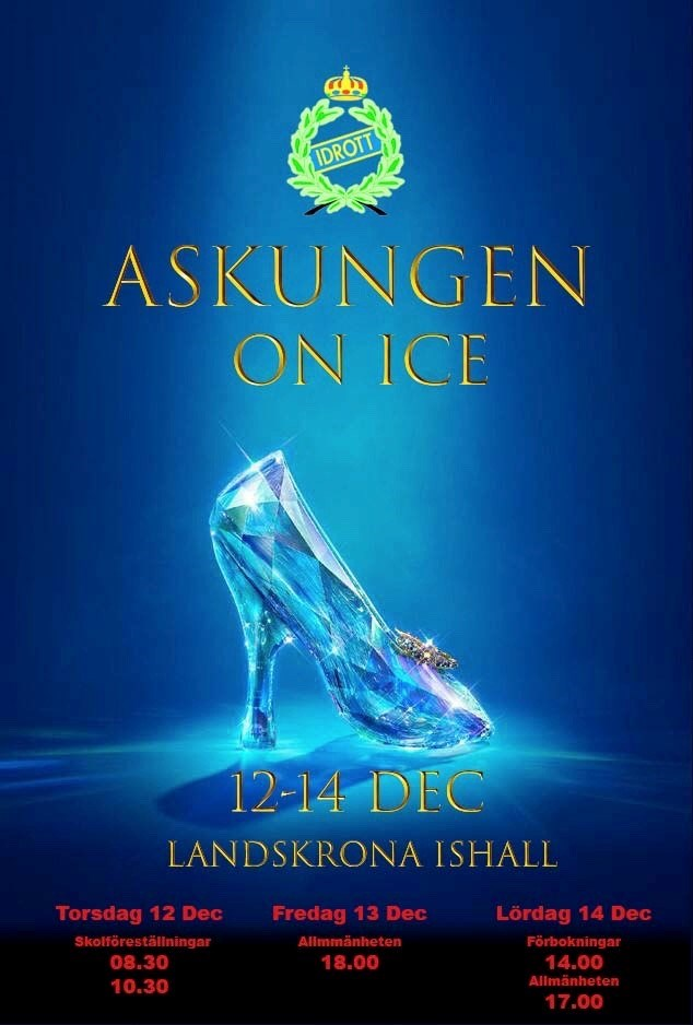 poster Askungen on-ice