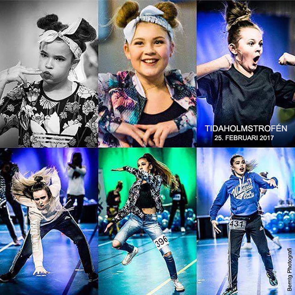 Hiphop Tidaholm collage